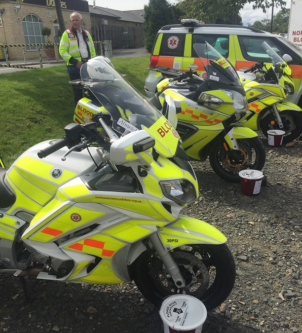 Northumbria Blood Bikes Open Day – Sunday 20th August 2017